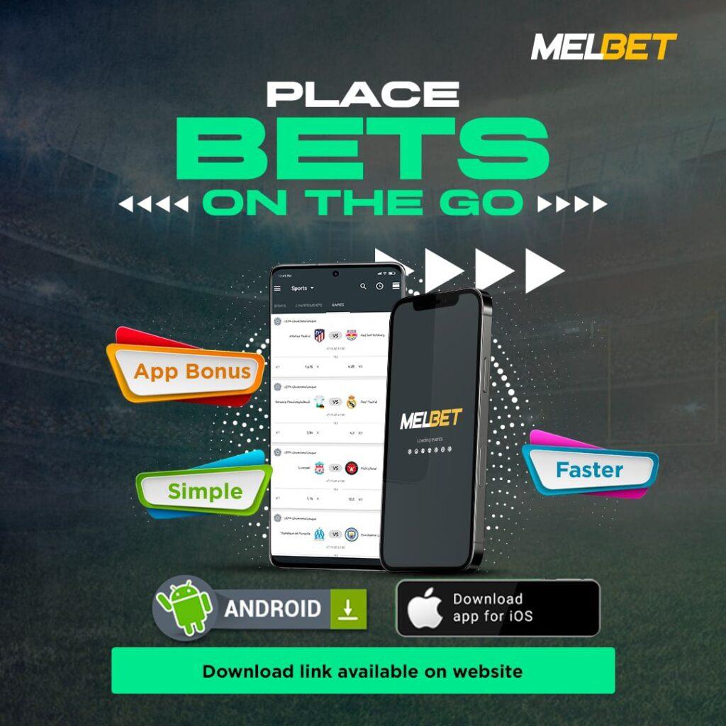 MelBet Place Bets