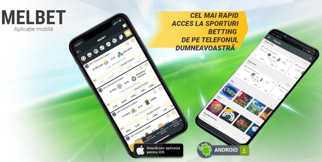 Melbet app descărcați Romania