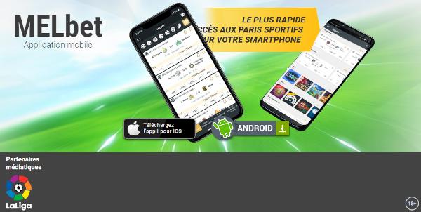 Télécharger Melbet apk et app